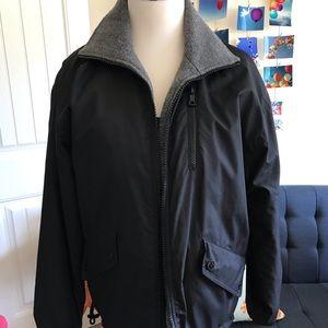 Banana Republic reversible gray/black jacket XS